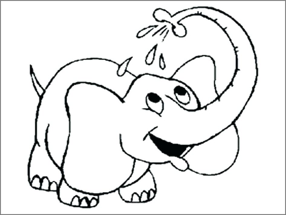 слон рисунок