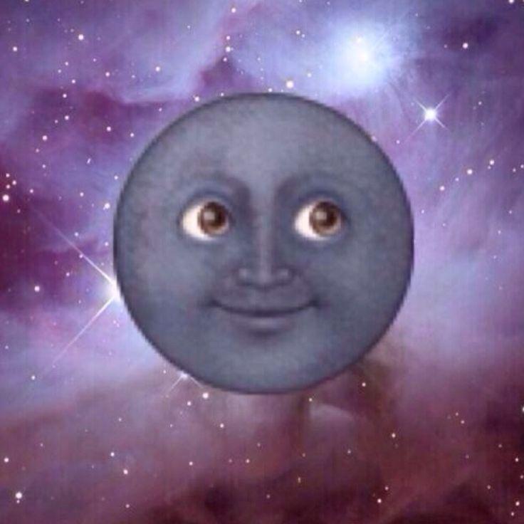Эмоджи луна 6