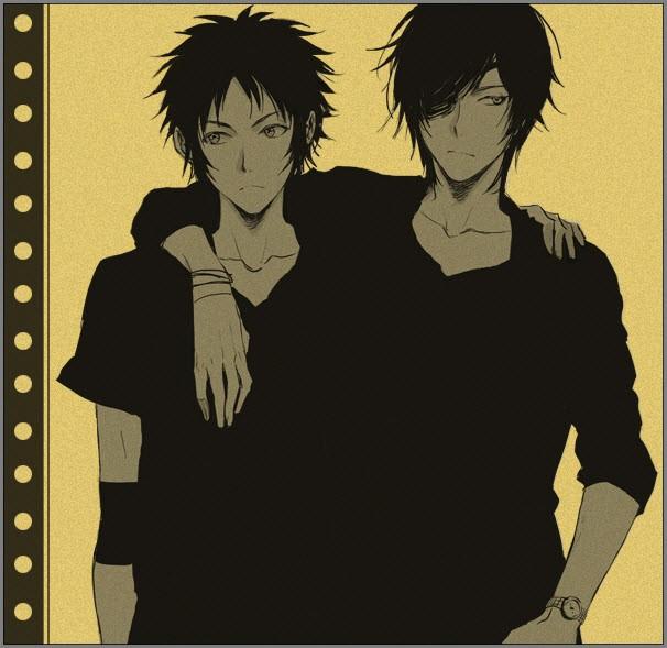 грустные парни аниме