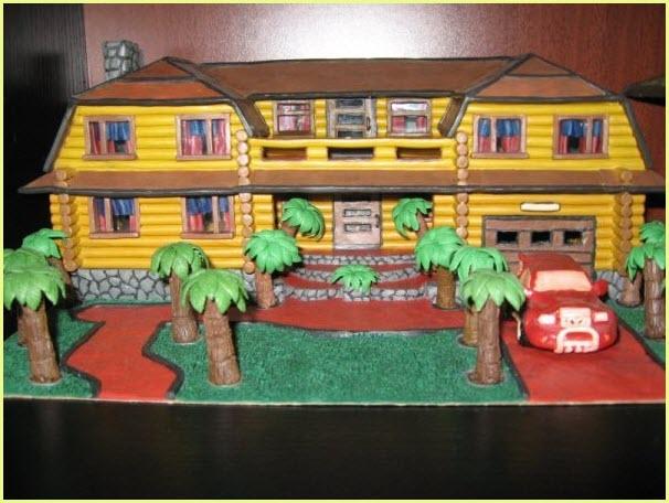 дом из пластилина 2
