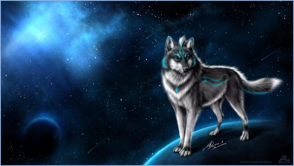 аниме волк