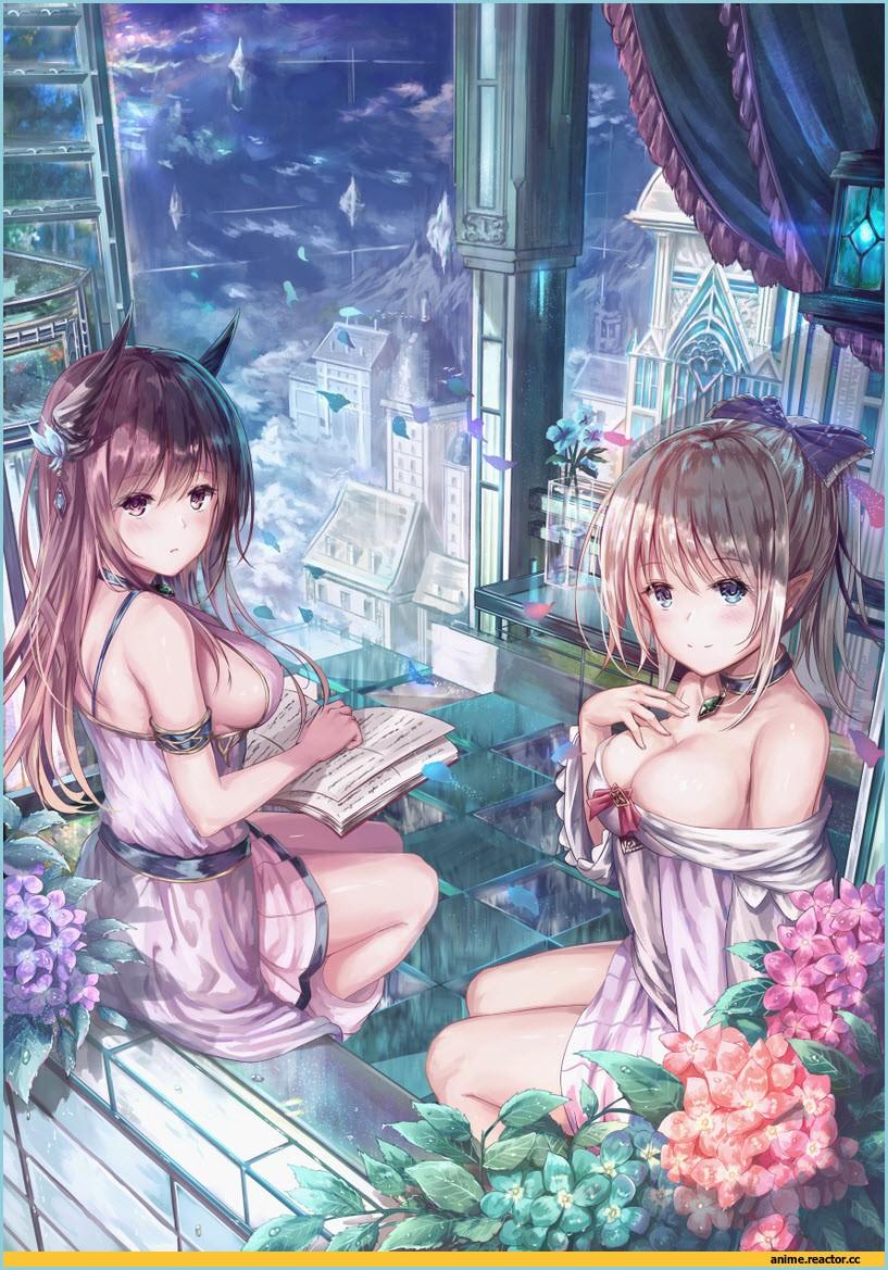 сексуальные девушки аниме