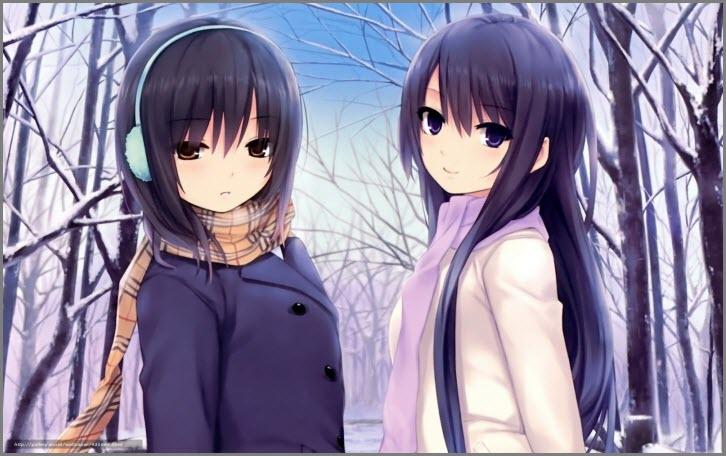 девушки аниме 15