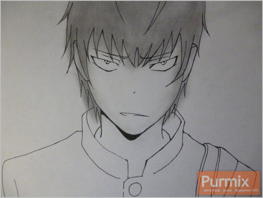 злой парень аниме