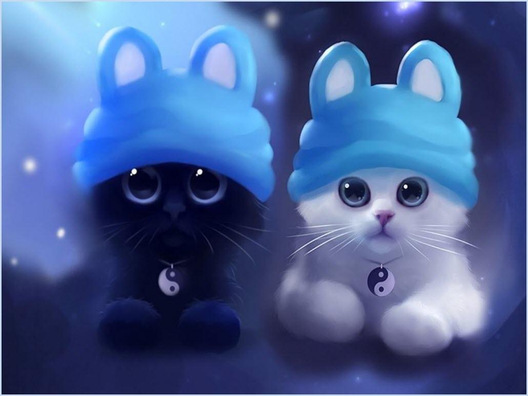 аниме котята 3