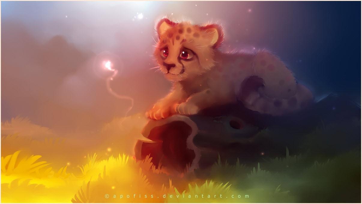 аниме котёнок 4