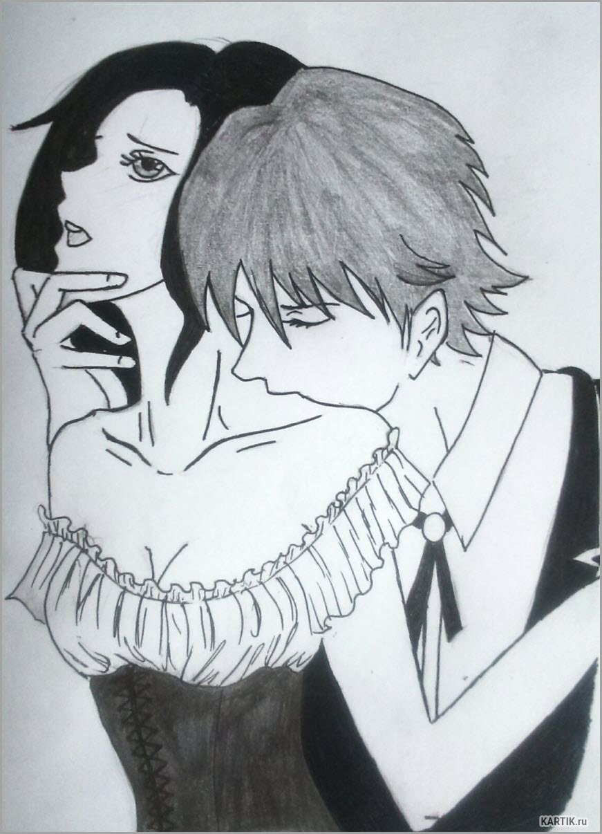 аниме любовь 5