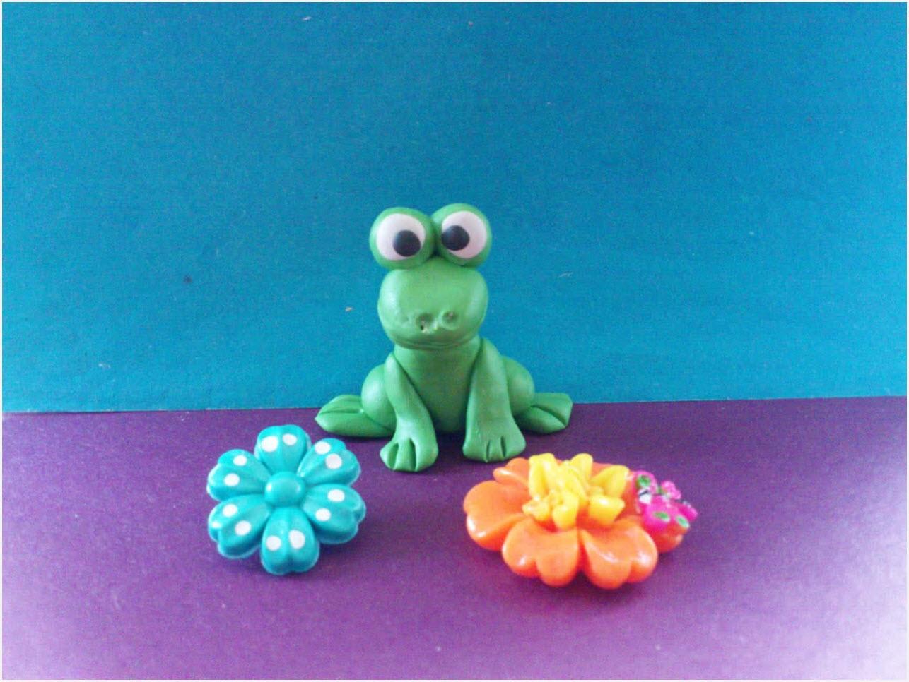 лягушка из пластилина 3