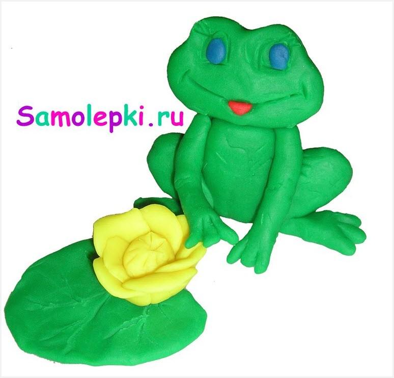 лягушка из пластилина 4