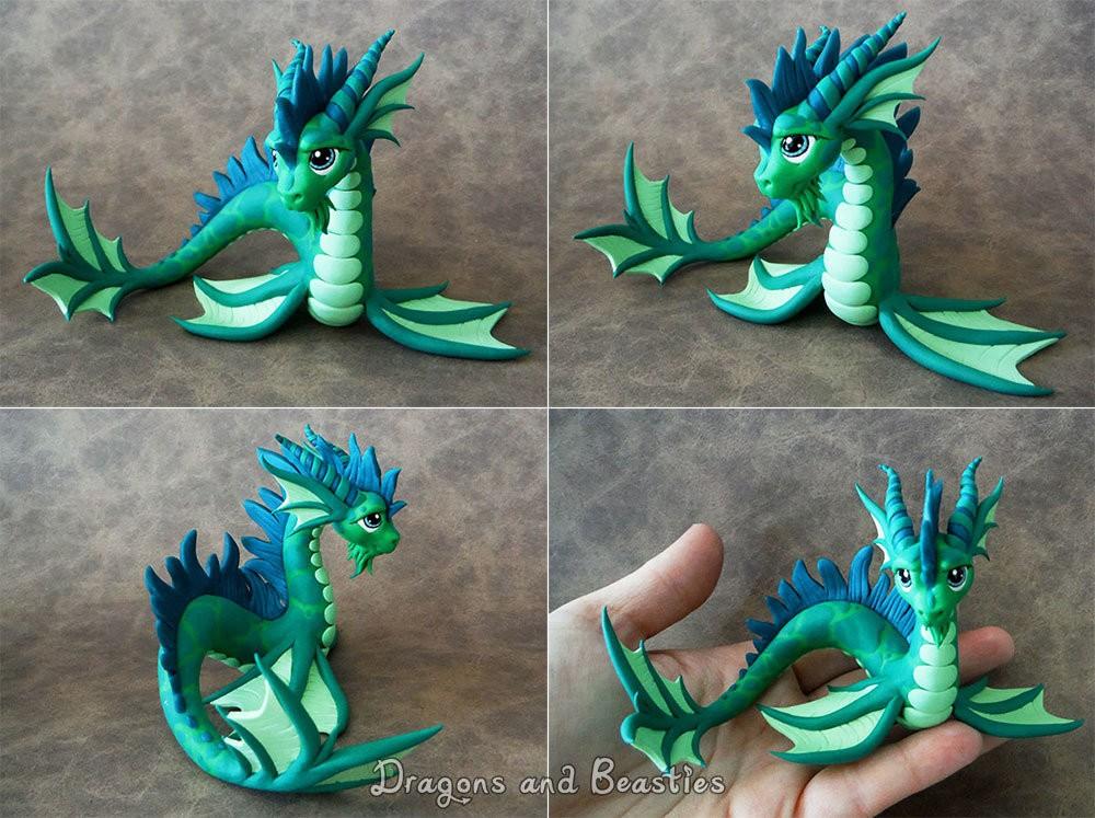 из пластилина драконы