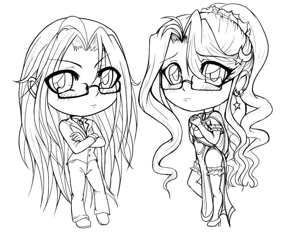 девушки с длинными волосами 3