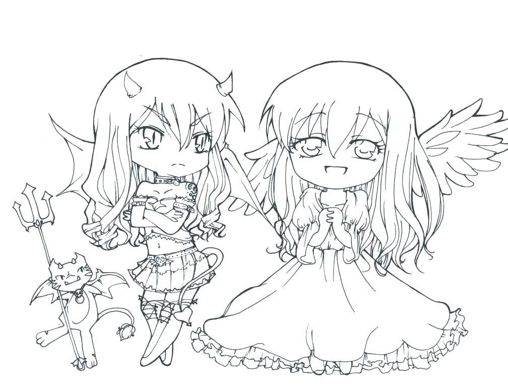 девушки аниме с крыльями
