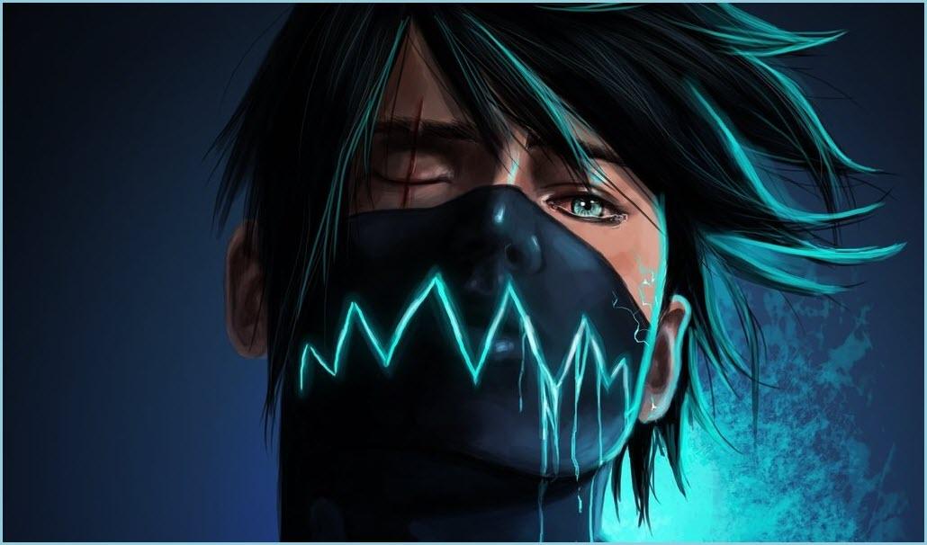 аниме маски