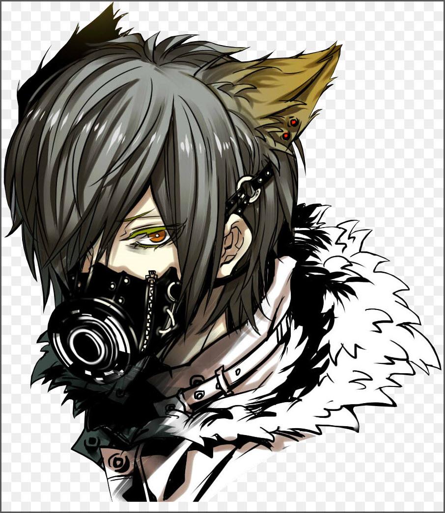 аниме маски 3