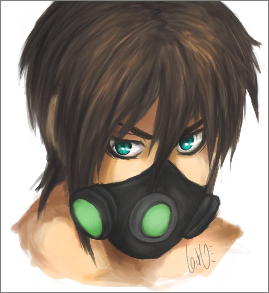 аниме маски 4