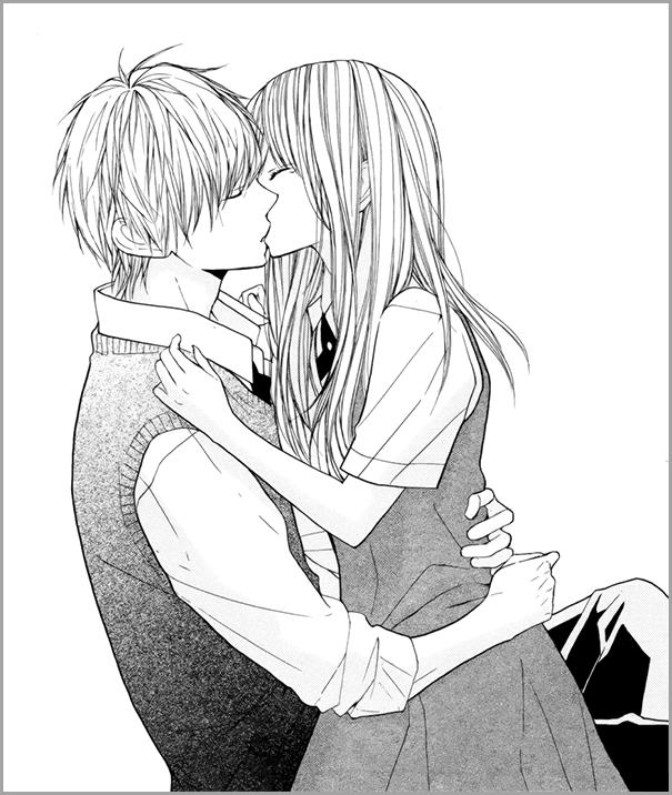 манга поцелуй 3