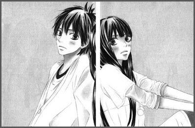 аниме девушка и парень 3