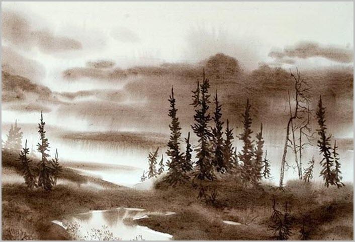 манга лес