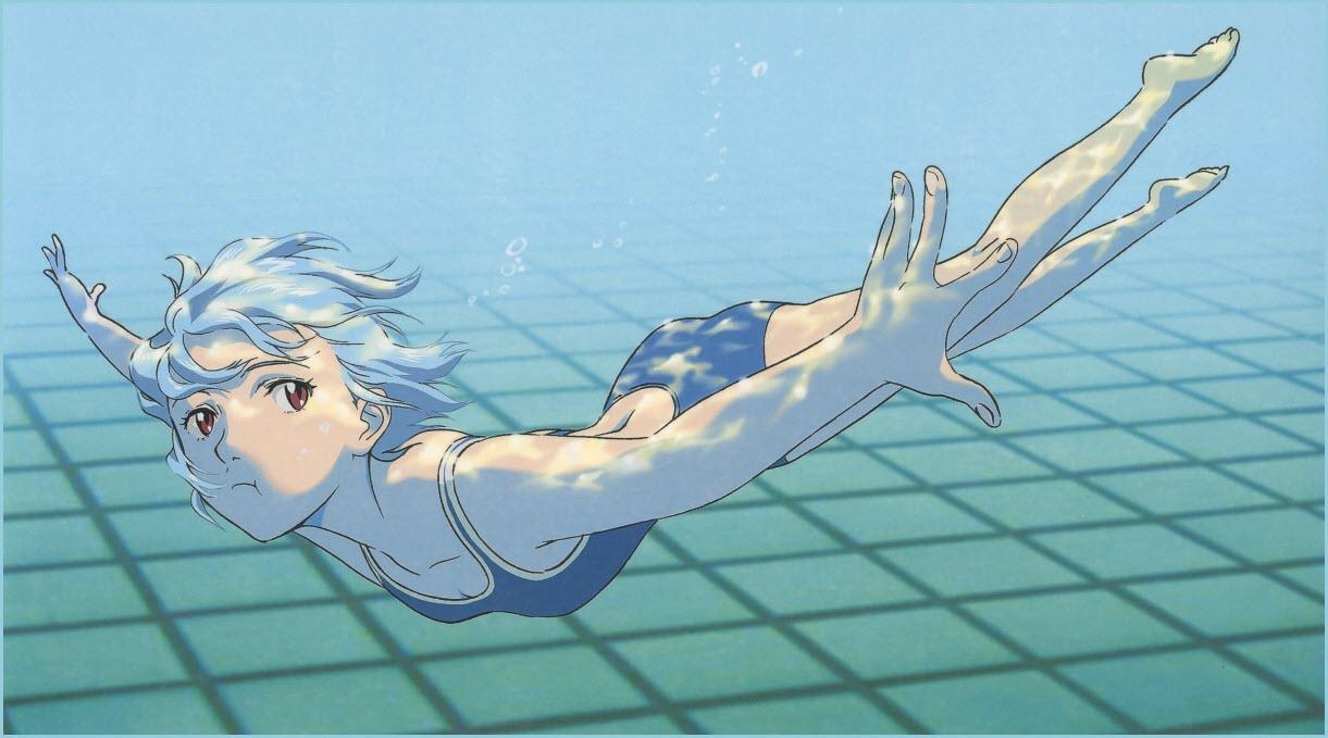 аниме под водой