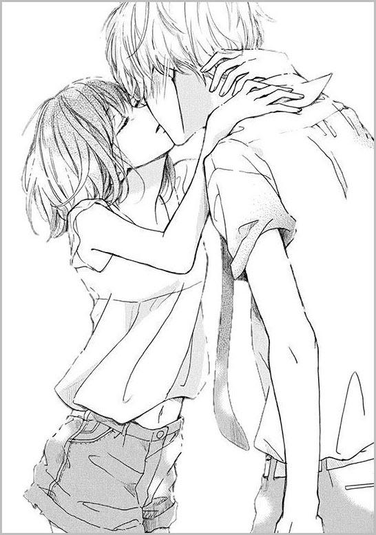 манга поцелуй 12