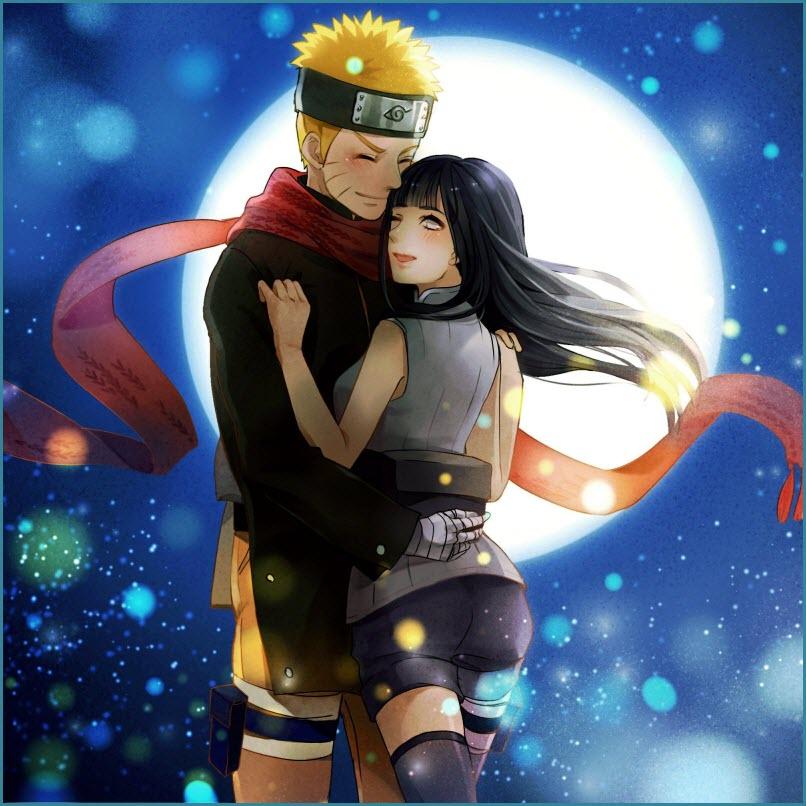 Наруто и Хината любовь 4