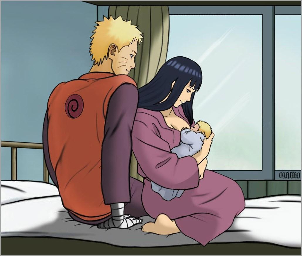 Наруто и Хината любовь 10