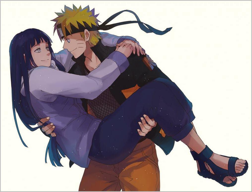 Наруто и Хината любовь 7