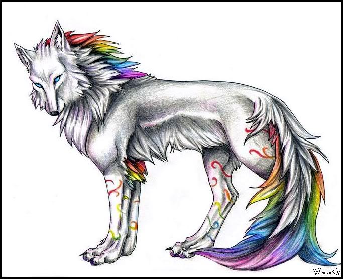 сказочный волк