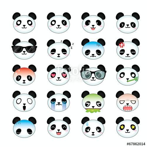 Панды кавай