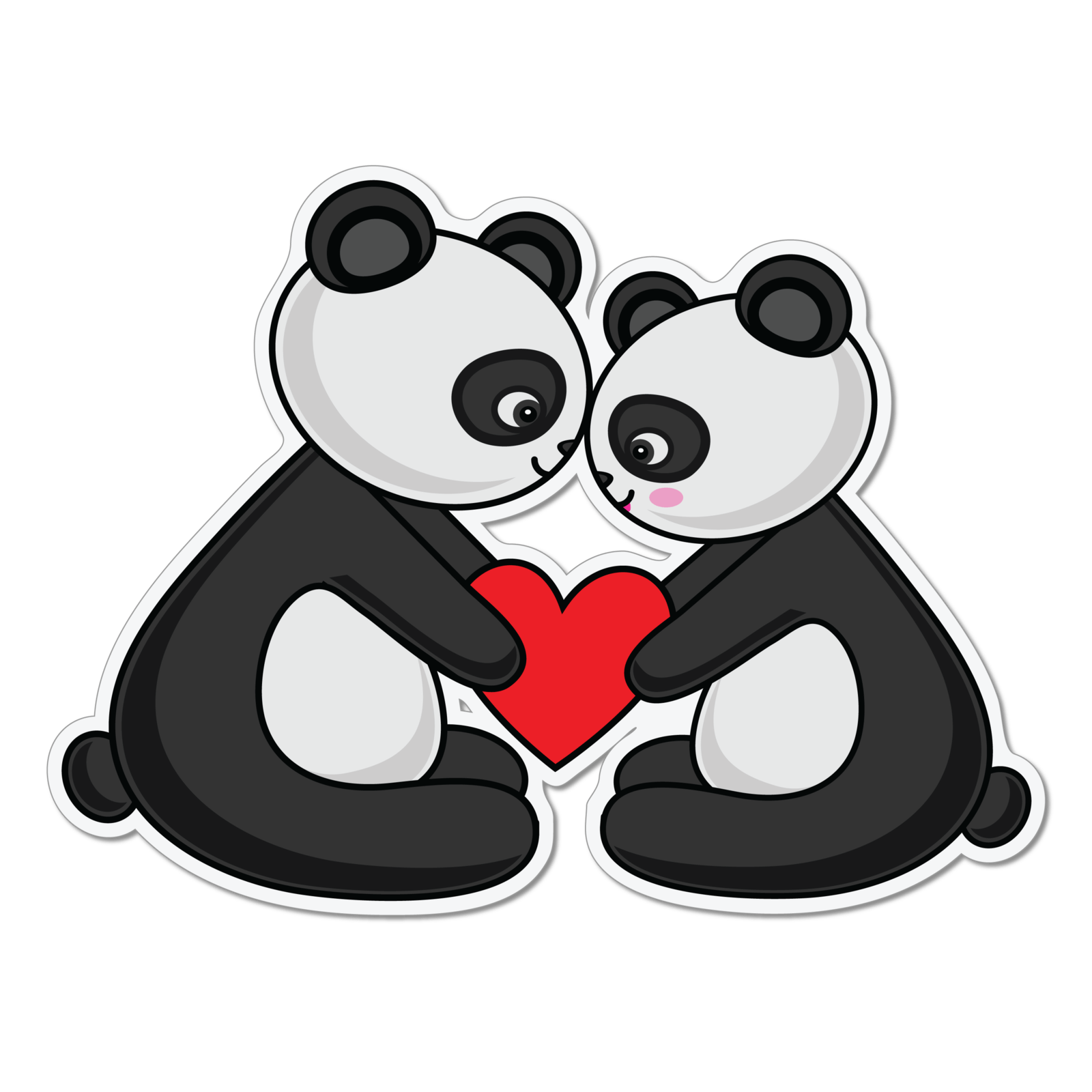 кавайные панды 3