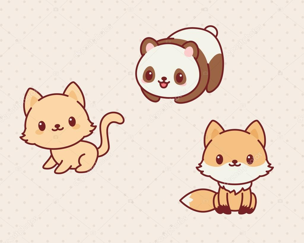 каваи котята