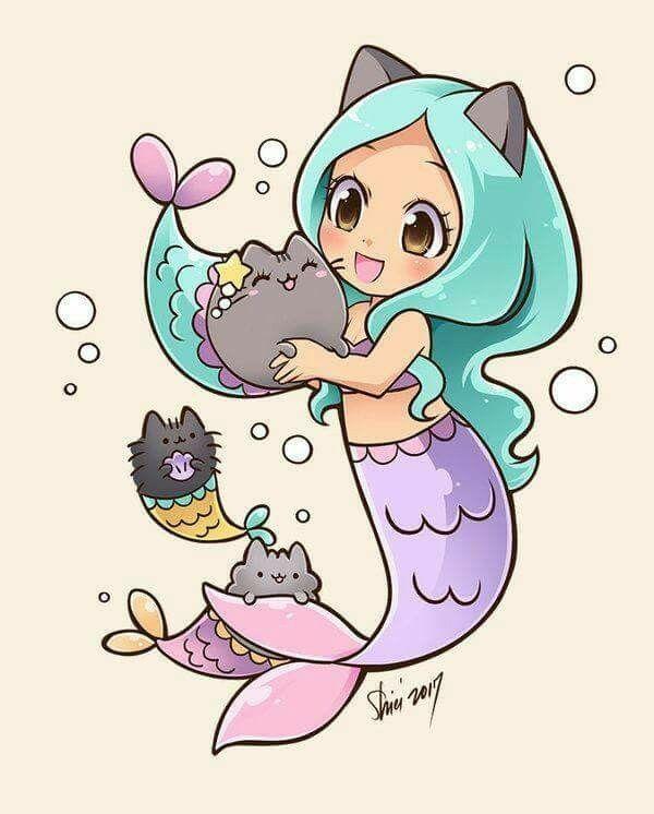 красивая русалка 2