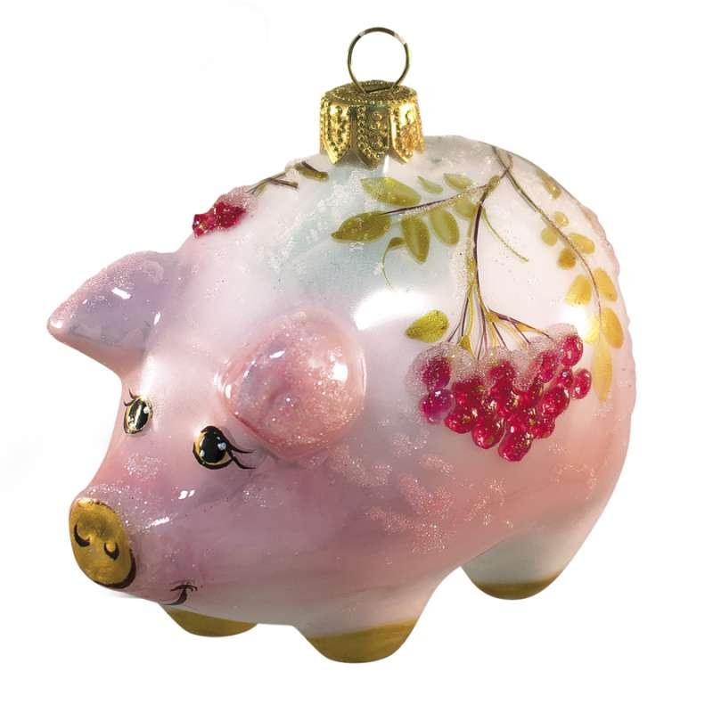 ёлочная игрушка свинья