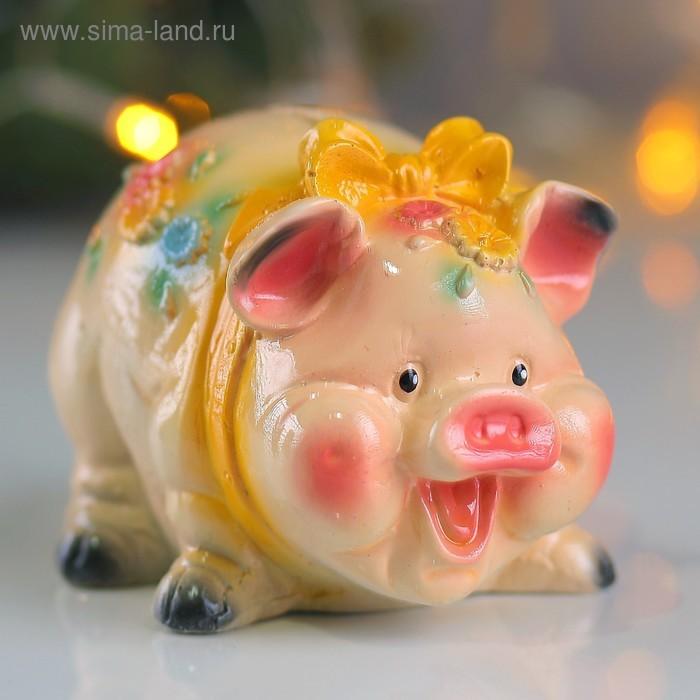 ёлочная игрушка свинка