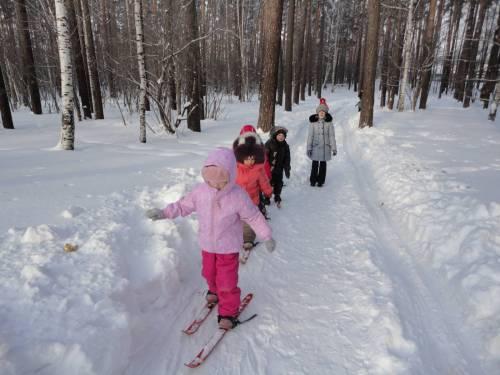 дети на лыжах 4