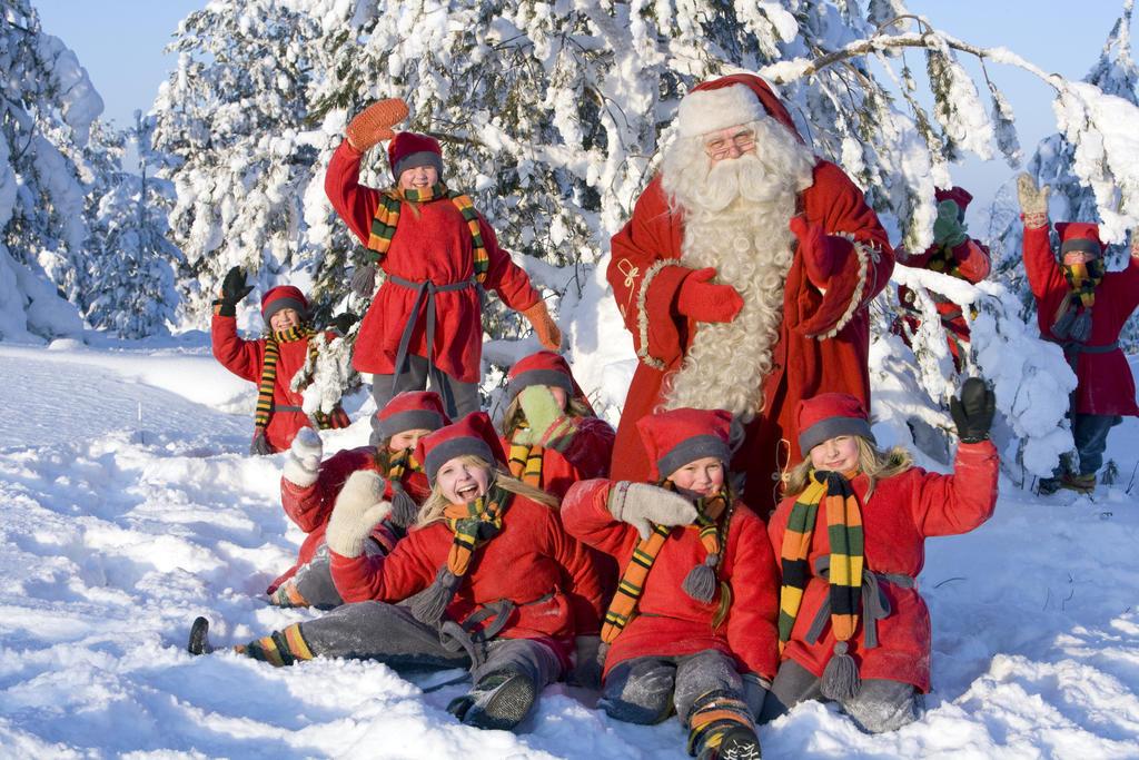 дед мороз с детьми