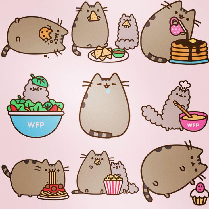 рисунки кота Пушина