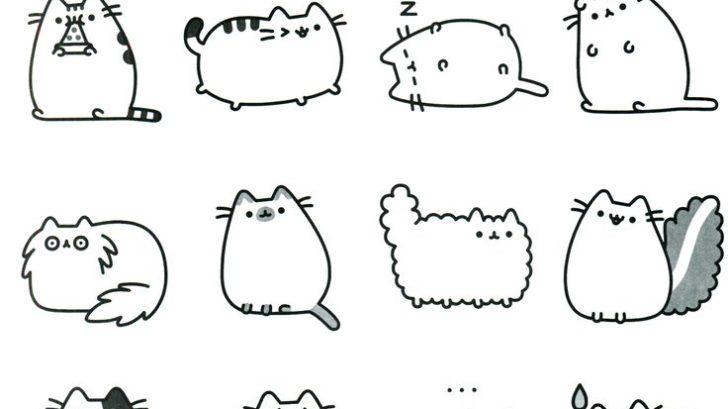 рисунки кота Пушина 2