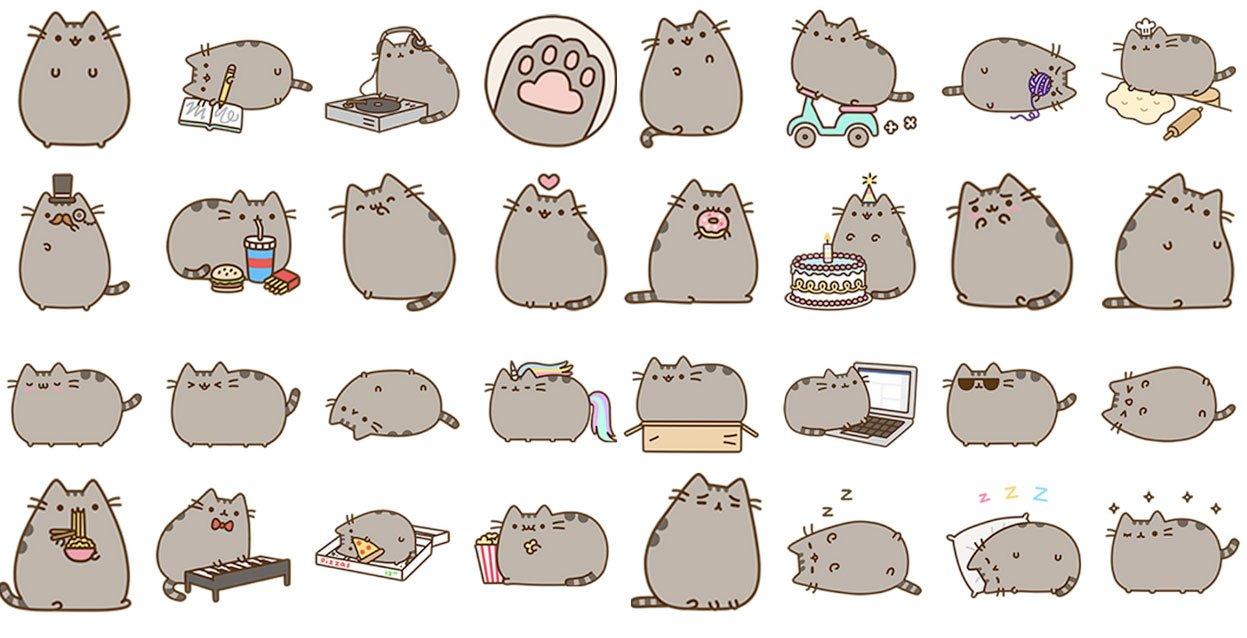 рисунки кота Пушина 3