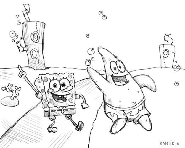 губка Боб и Патрик 22
