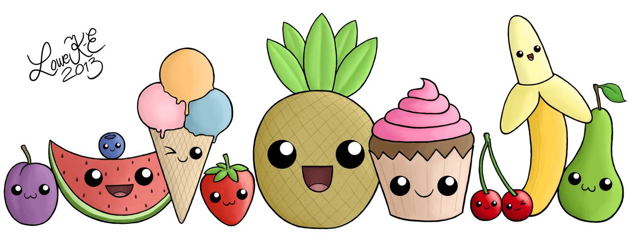 Сквиши фрукты