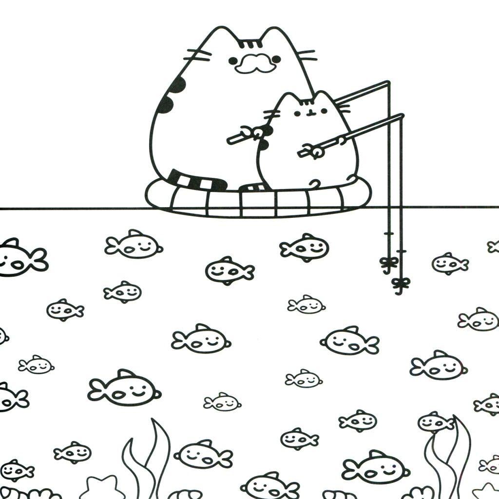картинка кот Пушин