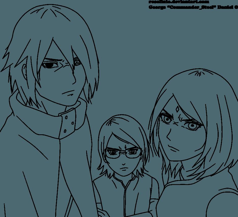 Боруто, Сарада и Сакура