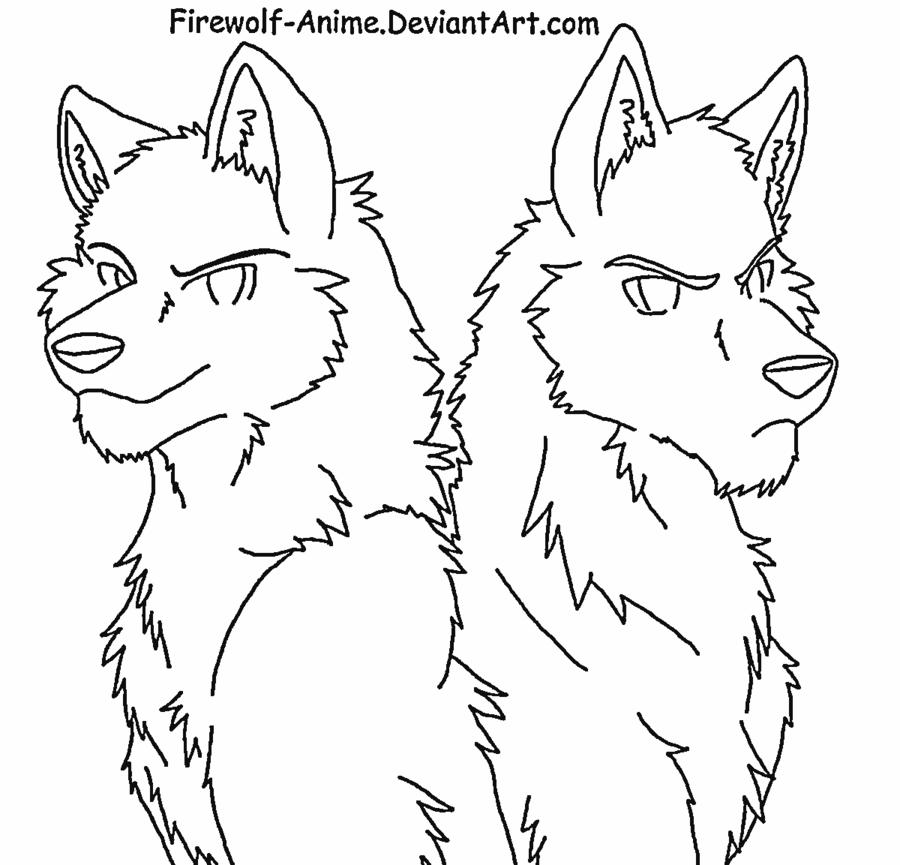 аниме волки 7