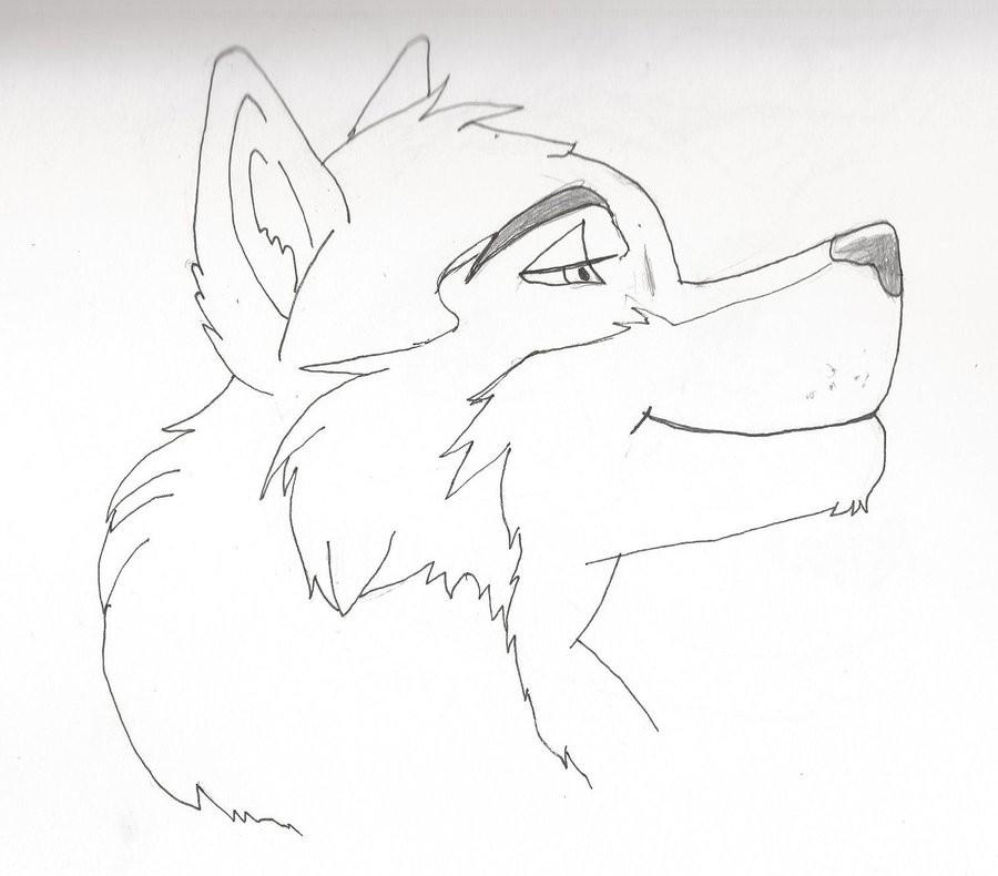 аниме волк 2