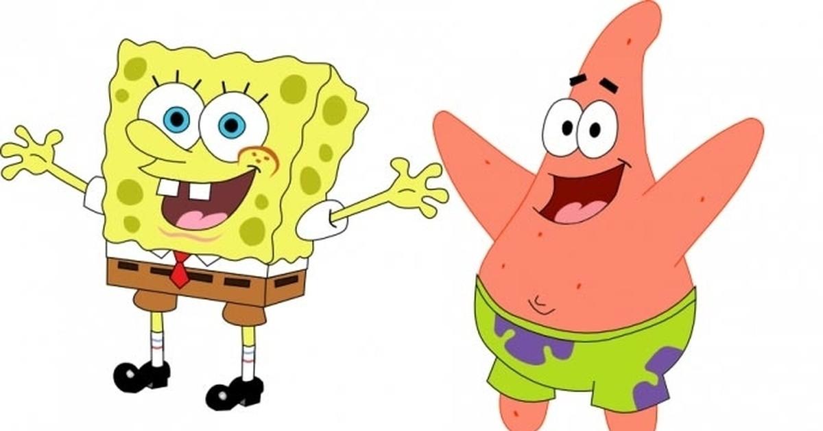 губка Боб и Патрик 2