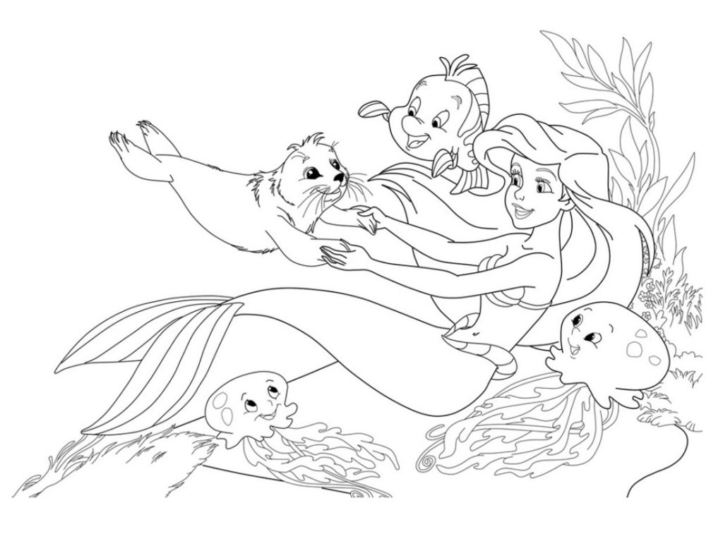 русалка Ариэль