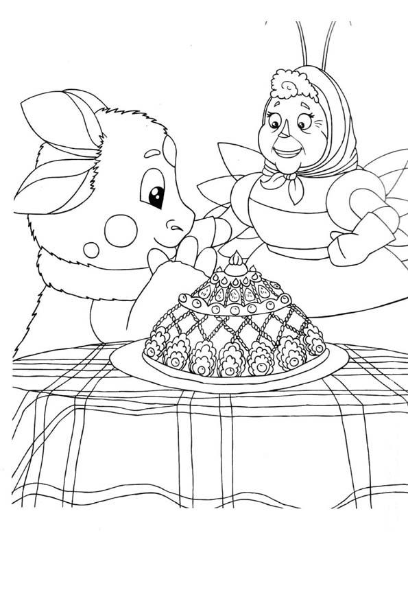 Лунтик и баба Капа 3