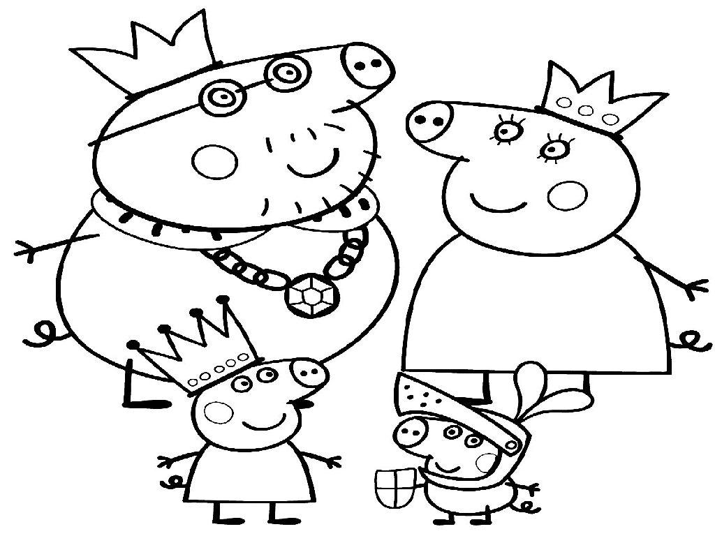 семья свинки Пеппа 2