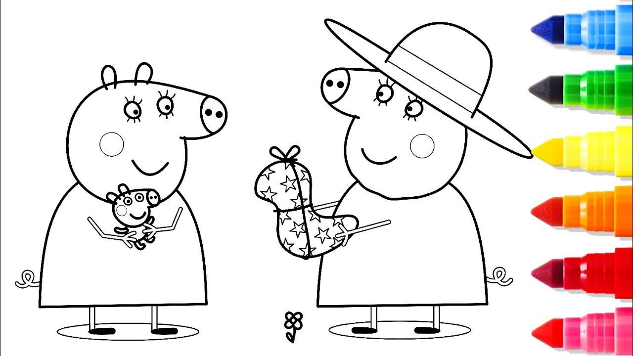 Свинка Пеппа и бабушка